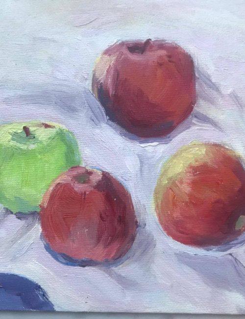 Хвалынские яблоки