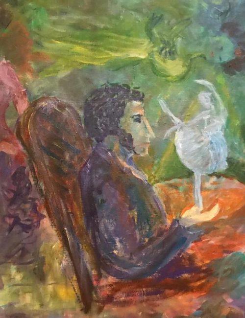 Музы Пушкина картина Сергея Петрушина